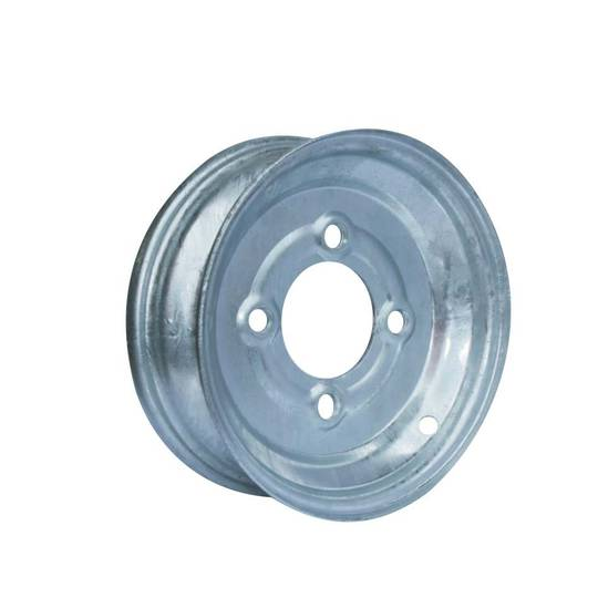 Steel Rim - 8 Inch - Galvanised - Hub Mounted - MW200