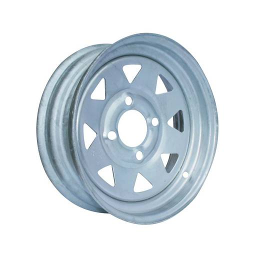Steel Rim - 12 Inch - Galvanised - Hub Mounted - MW300