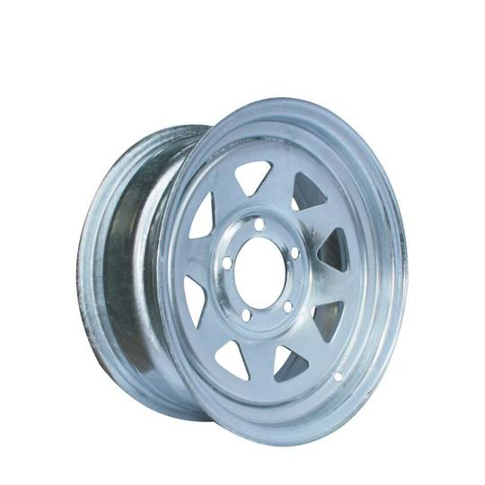 Steel Rim - 15 Inch - Galvanised - Hub Mounted - MW380