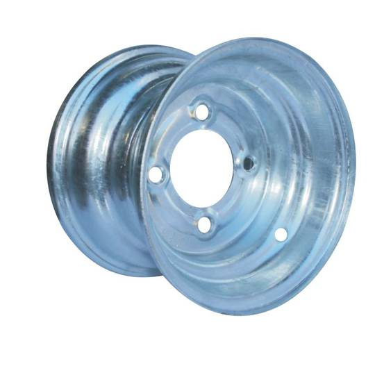 Steel Rim - 8 Inch - Galvanised - Hub Mounted - MWX200