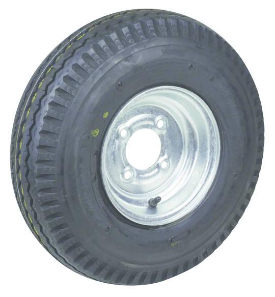 Pneumatic Wheel - Steel Rim - 500x10 Road 6ply - MW250-500R