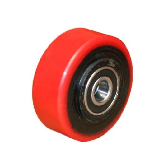 Urethane Wheel 100mm - Cast Iron Centre - MXU100