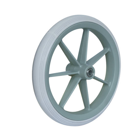 Rubber Wheel 190mm - Wheelchair - PF190