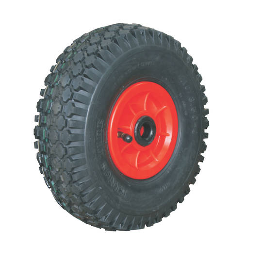 Pneumatic Wheel - Plastic Rim - 410/350x4 Diamond - PW100-410D