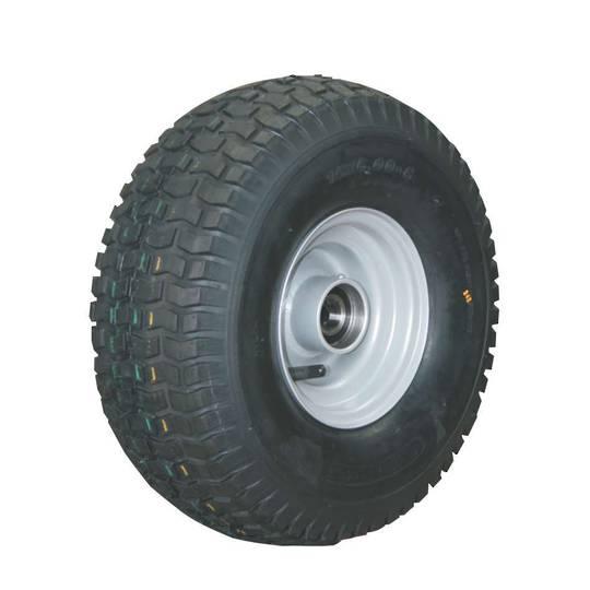 Pneumatic Wheel - Steel Rim - Hi-Speed Sealed Bearings