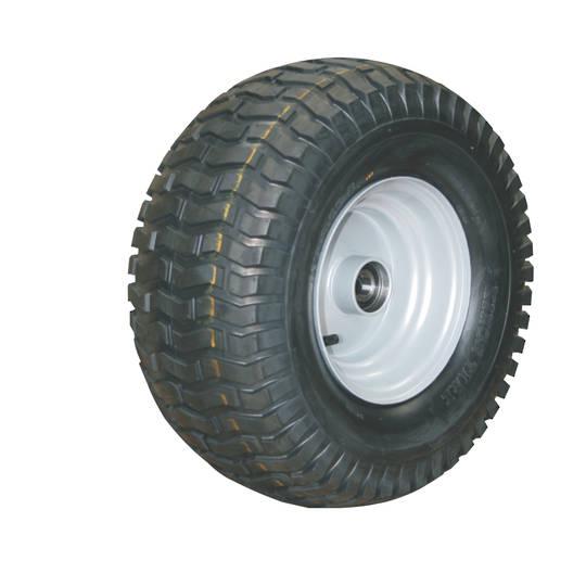 Pneumatic Wheel - Steel Rim - 16/650x8 Turf - RWX200-166T