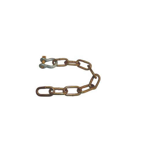 Safety Chain & Shackle - Rated 2000kg - S-CHAIN