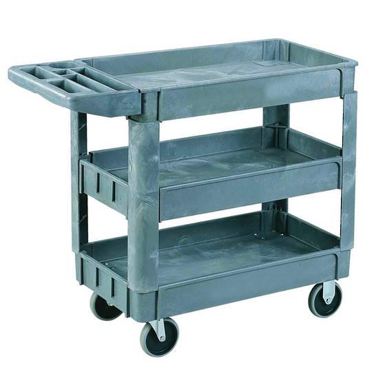 Plastic Shelf Trolley - Three Tier - SC790-3