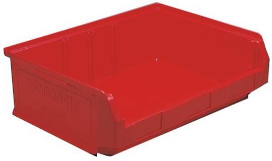 Storage Bin - Size 3ZD - 3ZD-BIN-RED