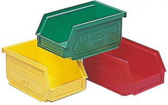 Storage Bin - Size 5 - 5-BIN-GREEN
