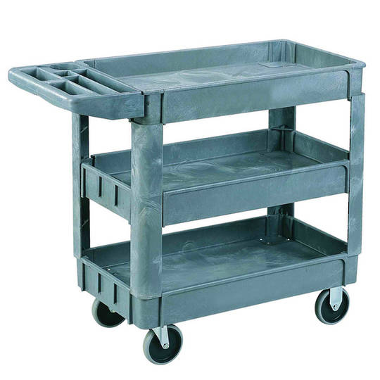Plastic Shelf Trolley - 3 Tier - SC950-3