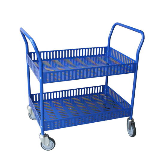 Metal Shelf Trolley - Two Tier - TT2-9510