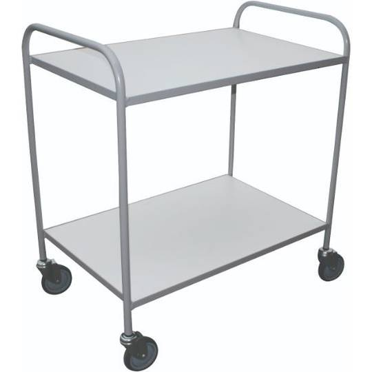 Meltecca Shelf Trolleys - Two Tier - TT2