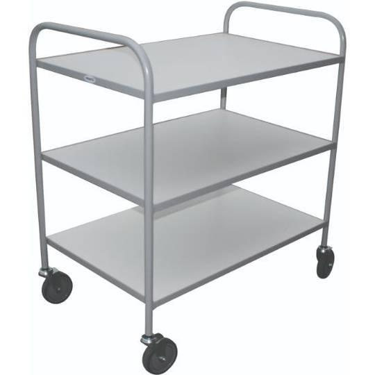 Meltecca Shelf Trolleys - Three Tier - TT3