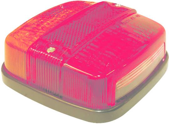 Tail Light -Combination- Stop/tail/indicator-number plate  12Volt