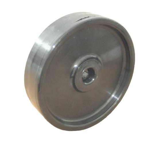 Nylon Wheel 150mm -  Sloped Tread - WJW150