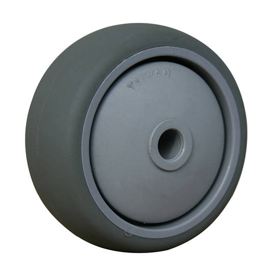 Grey Rubber Wheel 65mm - WLR65
