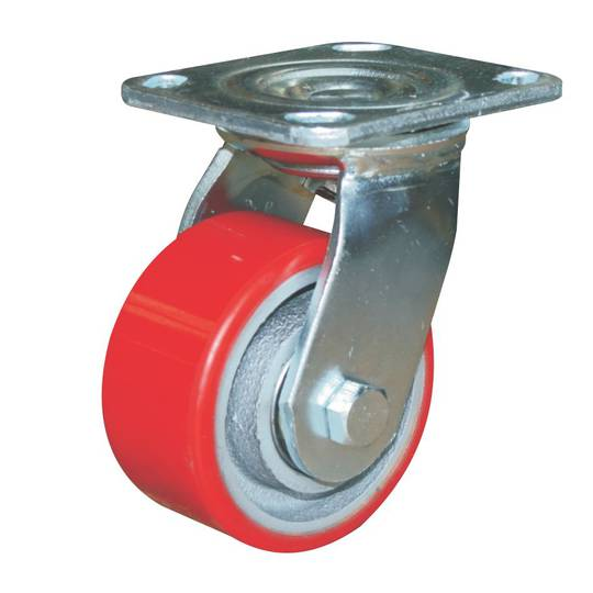 Swivel 100mm Urethane Castor - WXU100/P