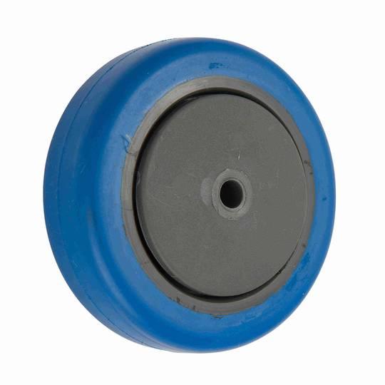 Blue Rubber Wheels