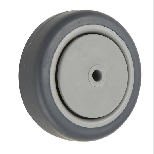 Grey Rubber Wheels