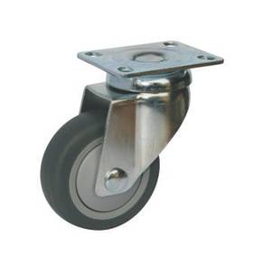 Light Duty Castors - Plate Fitting - 60kg Max