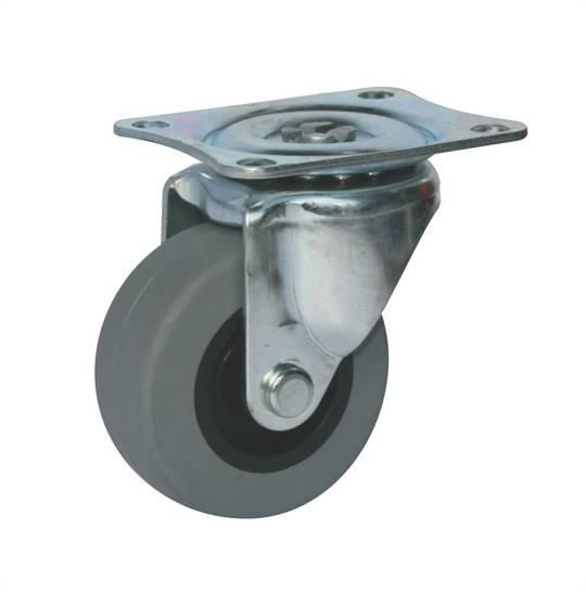 Light Duty Castors - Plate Fitting - 40kg Max