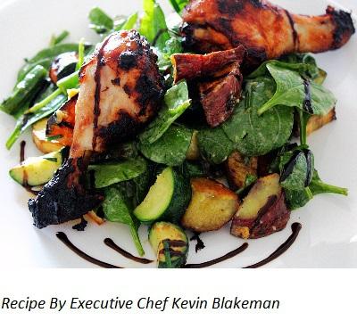 BBQ glazed Chicken