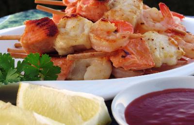 Mixed seafood keb-781