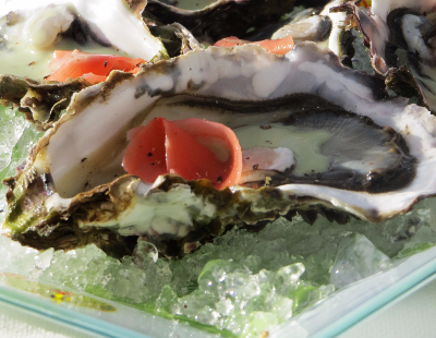 oysters wacabi