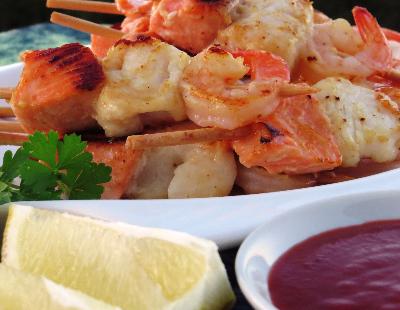 Mixed seafood keb-761
