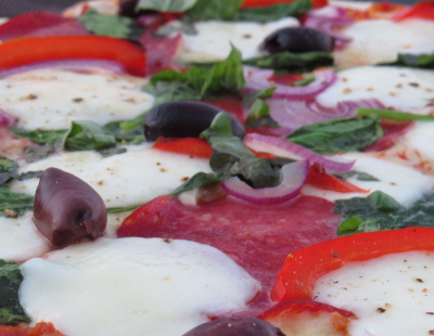 salami & bocconcini pizza-17