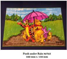 Pooh under Rain 82725