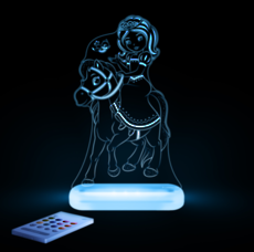 Princess & Pony Led Sleepy Light
