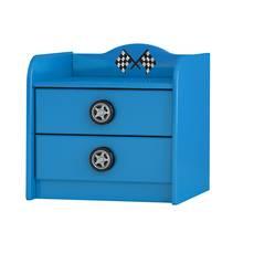Racing Car Side Table- Blue