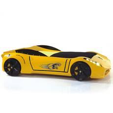 TiTi Car Bed Yellow