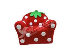 Strawberry armchair