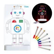 Robot- LED Colour Me Night Light (USB/Battery)