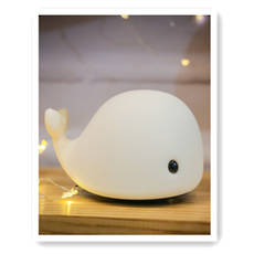 Rechargeable Whale Lamp