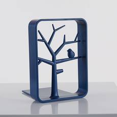 BOOK ENDS DEEP BLUE