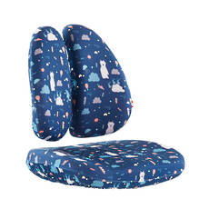 DUO CHAIR COVER DEEP BLUE