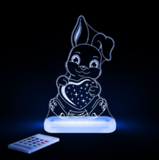 Bunny Smiling Led Sleepy Light