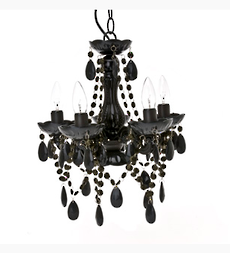Chandelier Gypsy Black Small