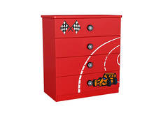 Racing Car Chest & Drawer