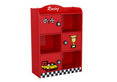 Racing Car Cabinet with 3 Doors