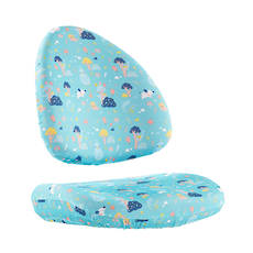 BABO CHAIR COVER AQUA GREEN
