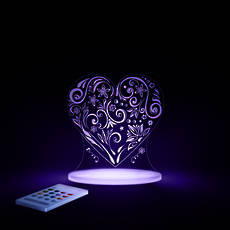 Love Heart  LED Sleepy Light