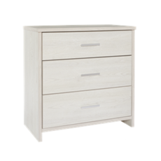 Atlas 3 Drawer Lowboy