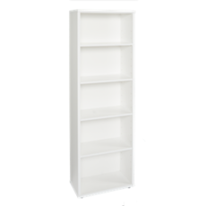 Cosmo 5 Shelf Bookcase