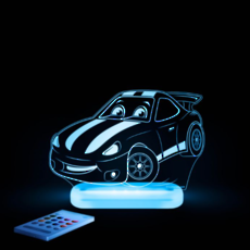 Race Car Led Sleepy Light