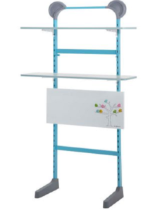 Blue Shelf Unit